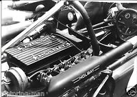 HOLBAY FORD FORMULA 3 ENGINE PHOTOGRAPH FOTO