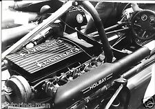 HOLBAY FORD FORMULA 3 ENGINE PHOTOGRAPH FOTO