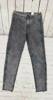 H&M & Denim Skinny High Waist Ankle Jeans Gray Women's SIZE 30