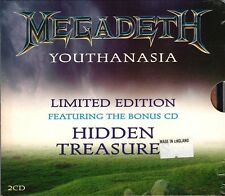 METADETH Youthanasia ~ Hidden Treasures LIMITED EDITION UK 2 CD Import ~ SEALED!