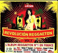 REVOLUCION REGGAETON - RADIO LATINA - 2 CD COMPILATION NEUF ET SOUS CELLO