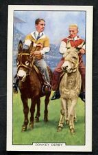 1938 Gallaher Ltd Cigarette Card - Racing Scenes No44 Donkey Derby