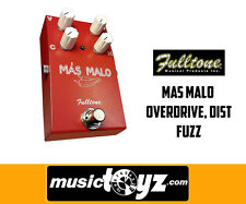 Fulltone Mas Malo Overdrive Distortion Fuzz Guitar Pedal, NEW, Auth Dealer, SHIP
