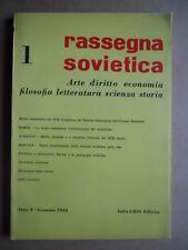 Rassegna Sovietica 1- Arte Diritto Economia Filosofia ed. IT URSS 1953 [OGL]