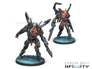 Infinity Combined Army Xeodron Batroids NIB
