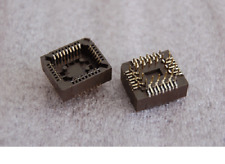 5pcs AMP 821665-1 32 Pin PLCC IC Socket Rectangular