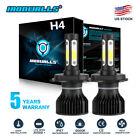 H4 HB2 9003 2600W 390000LM 4-Sides LED Headlight Kit Hi/Lo Power Bulb 6000K Car