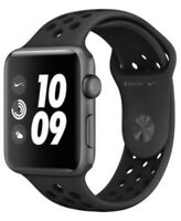 Apple Watch Nike+ Series 3 42mm Smartwatch - Space Gray/Black (MQL42LL/A)