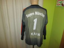 "FC Bayern München Adidas Torwart Trikot ""-T---Mobile-"" + Nr.1 Kahn Gr.S- M"