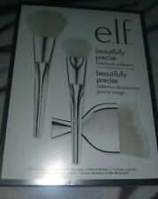 e.l.f. ELF Beautifully Precise Face Brush Collection 3pc Powder Blender Massager