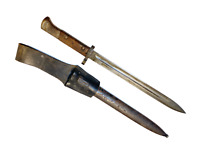 1926 Czech VZ24 Mauser Bayonet With Scabbard and Frog