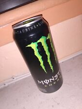 """RARE 2016 Monster Energy SKU 0216 16 oz Full Can - """"Carbonated Energy Drink"""""""
