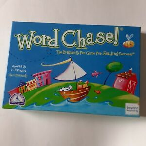 Word Chase Beyond Learning EUC Reading Game Eco Friendly Reading Sight Words