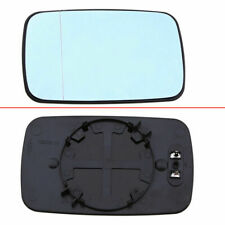 Driver Side Fit BMW 3 5 Series E46 1998-06 E39 Blue Door Mirror Glass Heated UK