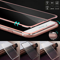 3D Curved Full Cover Film Tempered Glass Screen Protector For iPhone 6 7 8 Plus