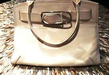 Furla Buckled Leather Bag WHITE