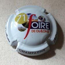 Capsule de Champagne Nicolas FEUILLATTE (71ème. foire de chalons)