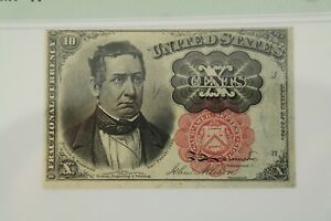 10 Cent Fifth Issue Fractional Currency Fr#1265 PMG MS 63 EPQ