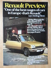 RENAULT RANGE 1978 UK Mkt Sales Brochure - 4 5 6 12 14 15 16 17 18 20 30
