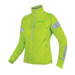 Endura WOMENS Urban Luminite Jacket - Hi-Viz Yellow SIZE SMALL RRP 99.99 BNWT