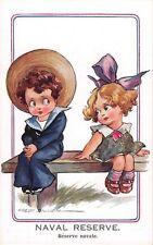 "Fred Spurgin  - WW1  Little Sailor Boy &  Sweetheart "" Naval Reserve """