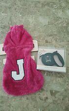 Juicy Couture Pet Jacket/Hoodie& Retractable Leash**NWT