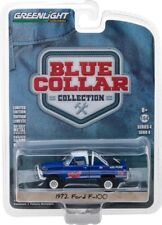Greenlight Blue Collar 1972 Ford F-100 Pure Oil Free USA Shipping