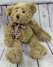 """Russ Berrie Bears From the Past BROWNING Teddy Bear  RUSS 16"""" Jointed Posable"""