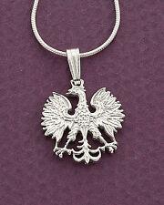 Silver Polish Eagle Pendant, Sterling Silver Polish Eagle Jewelry, ( # 254S )