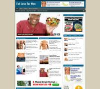 FAT LOSS FOR MEN AFFILIATE WEBSITE + NEW DOMAIN & HOSTING-SSL CERTIFICATE