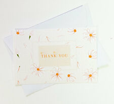 15 Thank You Cards Notes Flower Wedding Business Birthday Thankful AT THANK24
