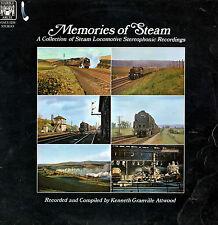 MEMORIES OF STEAM * 1970 * Steam Locomotive Stereo Recordings * LP * MALS 1216