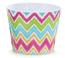 #6 Colorful Chevron Print Melamine Pot Cover