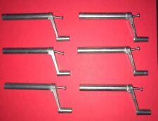 """Mobile Home/ RV Metal Window Crank Handle 3 1/2""""  w/screws (6 pack)"""