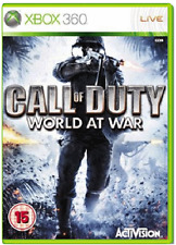 Xbox 360-CALL OF DUTY WORLD AT WAR (cod wāw) ** Nuovo e Sigillato ** UFFICIALE STOCK Regno Unito