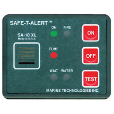 12 Volt Surface Mount Fume, Fire and Flood Detector for Boats, RVs and More