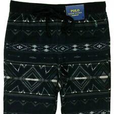 Polo Ralph Lauren Aztec Jogger Pants Sweatpants Black Men's Large