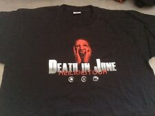 Death In June Heilige! Tour Shirt Small Tshirt Man Maglietta Shirt Neofolk DI6
