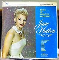 JUNE HUTTON music of romance LP VG+ TST 555 Vinyl 1962 Stereo USA Tiara