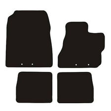 Toyota IQ (2008 to DATE) Fully Tailored Black 3mm Rubber Car Floor Mats Set of 4