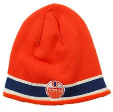Edmonton Oilers CCM K961Z Vintage Hockey NHL Knit Beanie/Hat/Toque