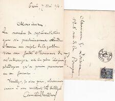 ✒ [Ambroise THOMAS & Mignon] L.A.S Camille CHEVILLARD compositeur chef orchestre