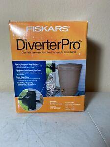 BNIB Fiskars DiverterPro Divert Rainwater From Downspout To Rain Barrel FREE S&H