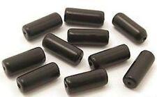 10 Glaswalzen ca. 6 x 15mm schwarz