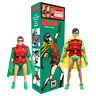 DC Comics Retro OVERSIZED Box 8 Inch Action Figures: Set of 2 Robin Figures