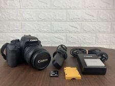 Canon EOS 1000D 10.1MP Digital SLR DSLR Camera w/EF-S 18-55mm II & Extras MINT