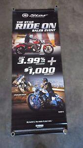 Yamaha Star Motorcycles Stryker Stratoliner Deluxe Raider S Dealer Banner
