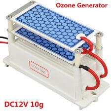 Car Ozone Generator Air Purifier DC12V 10g Ozonizer Ceramic Plate Air Sterilizer