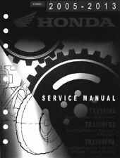 Honda TRX 500 TRX500 FourTrax ATV 2005 2006 2007 service manual on CD
