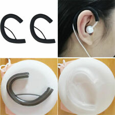 1/2/5 Pairs Soft Silicone Replacement Earphone Earhook Clip Round Wire Earloop